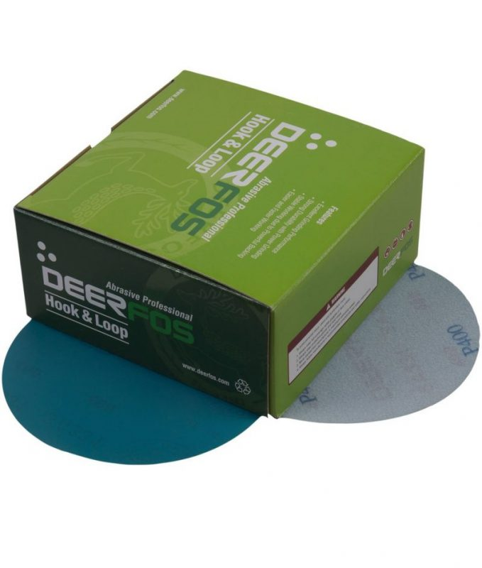 DISC SAND PAPER-VELCRO
